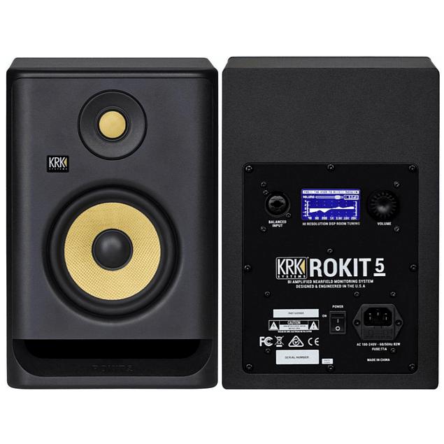 KRK Rokit RP5 G4 Monitores de Estudio (Par)