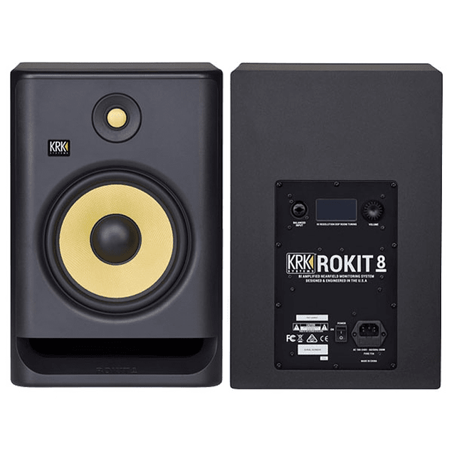 KRK Rokit RP8 G4 Monitores de Estudio (Par)