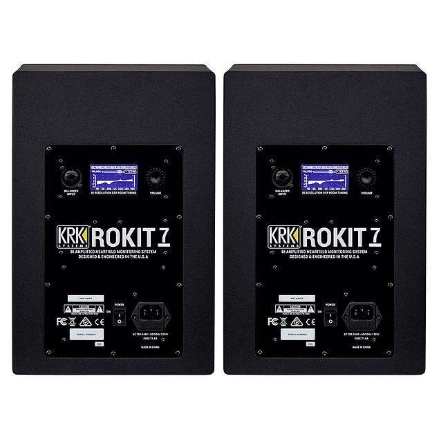 KRK Rokit RP7 G4 Monitores de Estudio (Par)