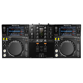 Cabina Completa Pioneer XDJ 700 + Pioneer DJM 250 MK2