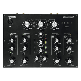 Omnitronic TRM 402 Mezcladora para DJ