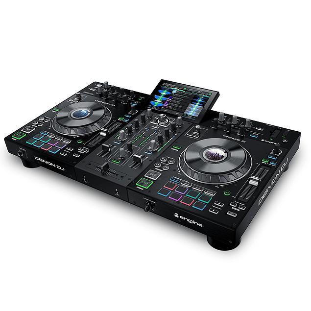 Denon DJ Prime 2 Reproductor Multimedia 2 Canales para DJ