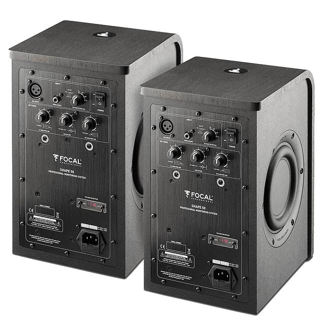 Focal Shape 50 Monitores (Par)