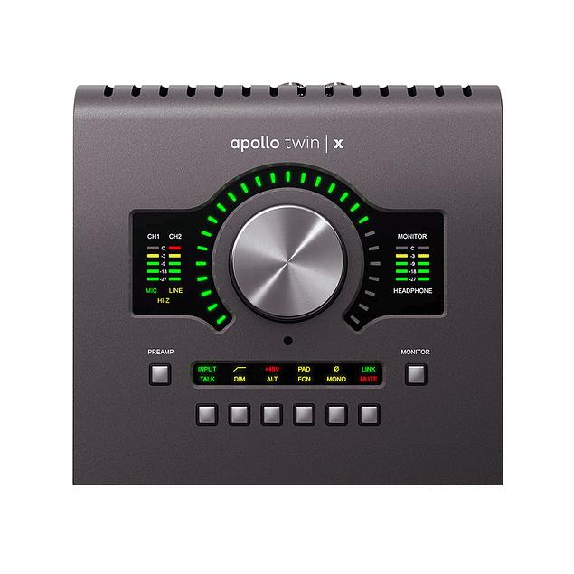 UNIVERSAL AUDIO APOLLO TWIN X DUO HERITAGE EDITION Interfaz De Audio Thunderbolt
