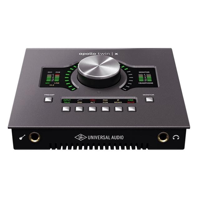 Universal Audio Apollo Twin X Duo Interfaz De Audio Thunderbolt