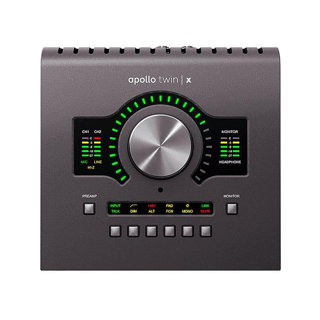 UNIVERSAL AUDIO APOLLO TWIN X QUAD Heritage Edition Interfaz De Audio Thunderbolt