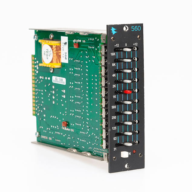 API 560 Ecualizador Gráfico De 10 Bandas