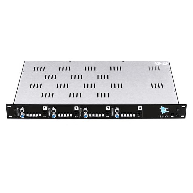 API 3124V Preamplificador De Micrófono De 4 Canales