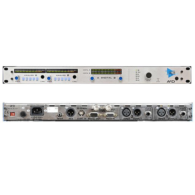 API A2D CONVERTIDOR AD / Preamplificador De Micrófono Dual