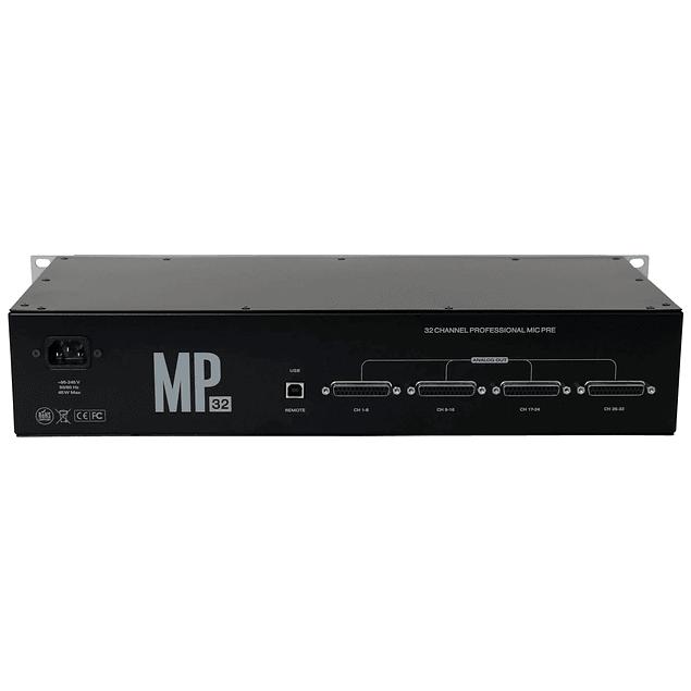 ANTELOPE MP32 PREAMPLIFICADOR DE MICRÓFONO