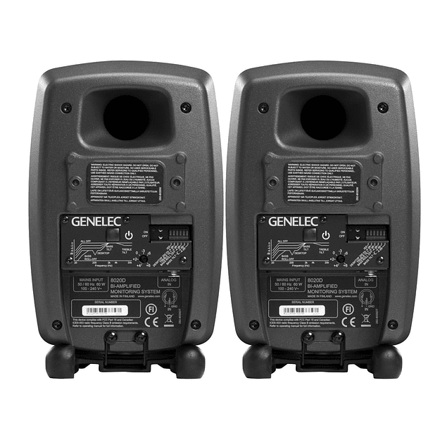 GENELEC 8020D Monitores De Estudio (El Par)