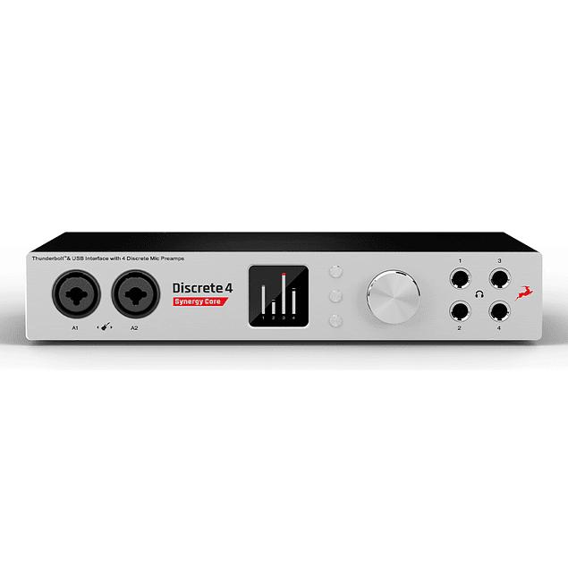 ANTELOPE DISCRETE 4 Synergy Core Interfaz De Audio