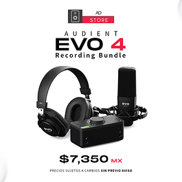 AUDIENT EVO 4 Recording Bundle