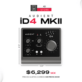 AUDIENT ID4 MK2 Interfaz De Audio