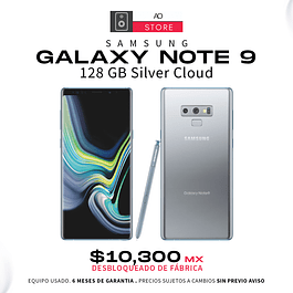 SAMSUNG GALAXY NOTE 9 128 GB Cloud Silver