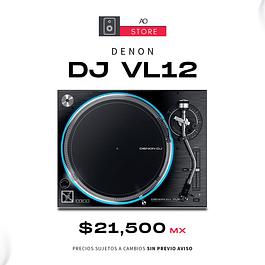 DENON DJ VL12 Tornamesa Para Dj (Unidad)