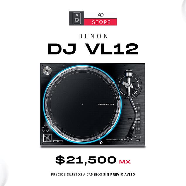 DENON DJ VL12 Tornamesa Para Dj