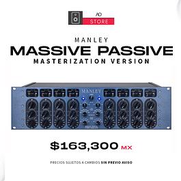MANLEY MASSIVE PASSIVE Ecualizador De Tubo Versión Masterización