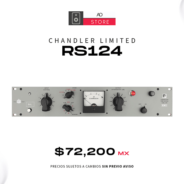 CHANDLER LIMITED RS124 Compresor