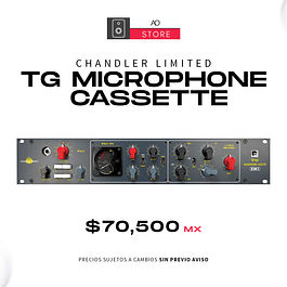 CHANDLER LIMITED TG MICROPHONE CASSETTE Preamplificador