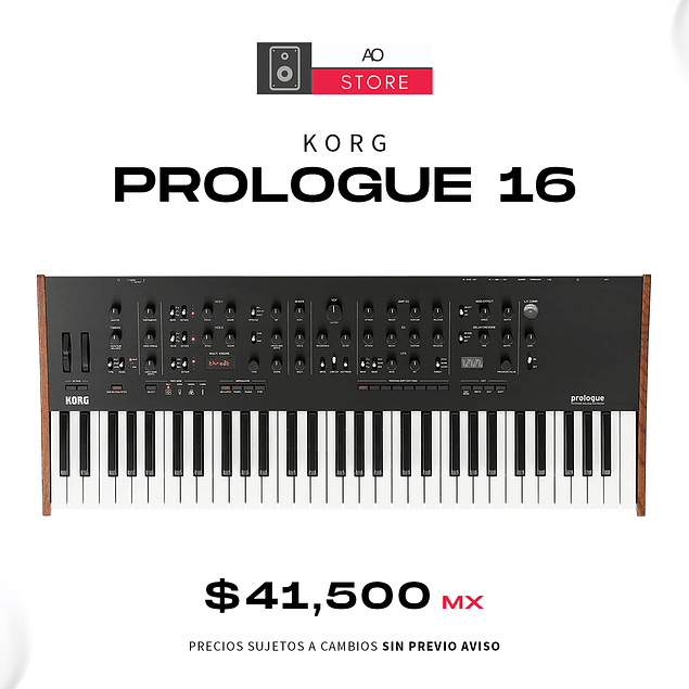 KORG PROLOGUE 16 Voces Sintetizador
