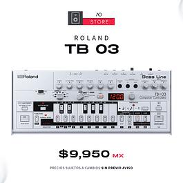 ROLAND BOUTIQUE TB 03 Bass Line Sintetizador