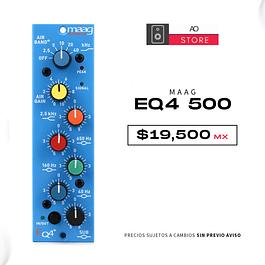 MAAG AUDIO EQ4 500 Ecualizador