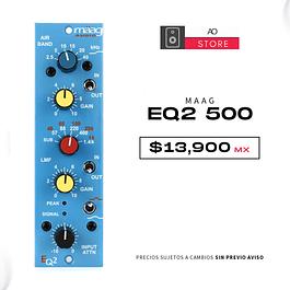 MAAG AUDIO EQ2 500 Ecualizador