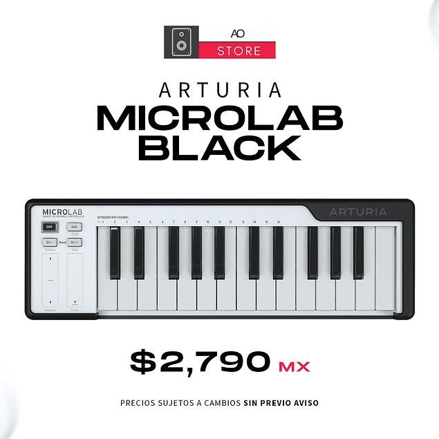ARTURIA MICROLAB BLACK Controlador Midi