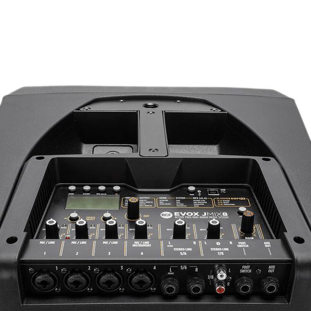 RCF EVOX JMIX8 Sistema De Audio En Torre