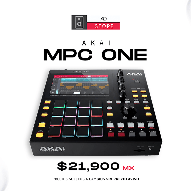 AKAI MPC ONE Sequenciadores
