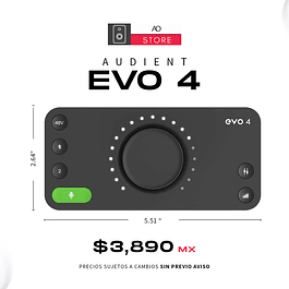 AUDIENT EVO 4 Interfaz De Audio