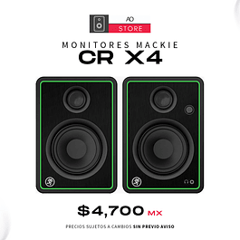 MACKIE CR X4 Monitores De Audio (El Par)