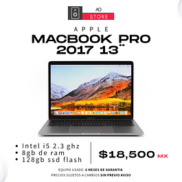 APPLE MACBOOK PRO 2017 13¨