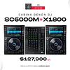 Denon SC6000M + X1800 Prime Cabina Completa
