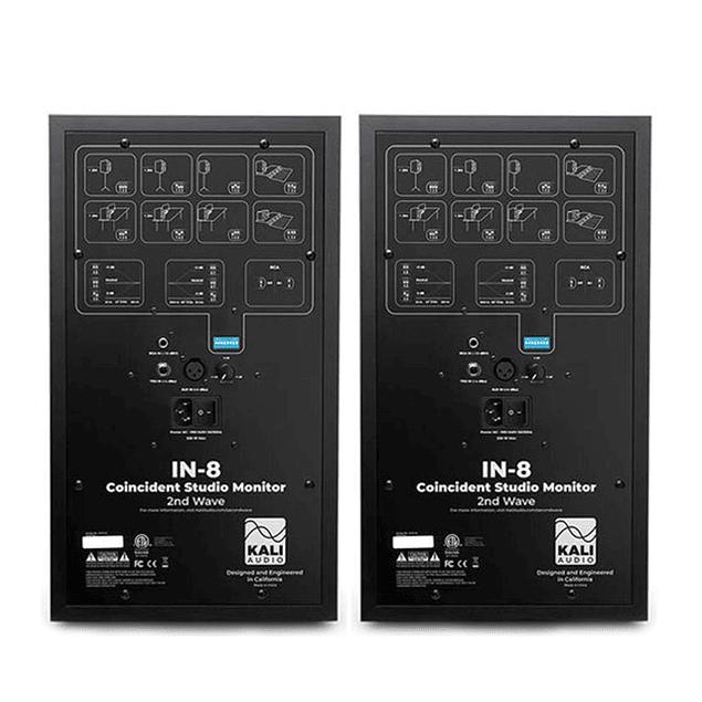 KAI AUDIO IN-8 2nd Wave (V2) Monitores De Audio (Par)