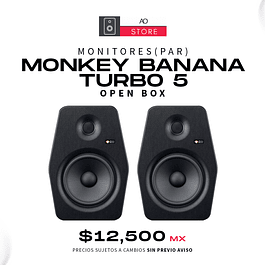 MONKEY BANANA TURBO 5 Monitores De Estudio (El Par) [Open Box]