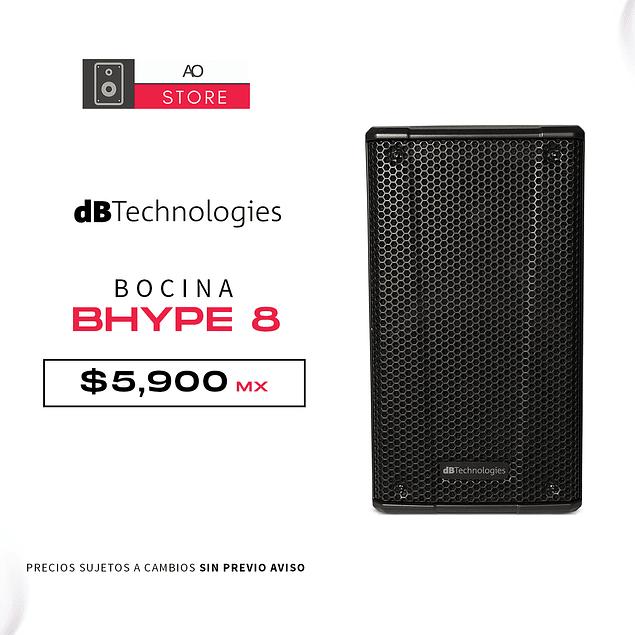 dB TECHNOLOGIES BHYPE 8 Bocina Activa