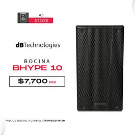 dB TECHNOLOGIES BHYPE 10 Bocina Activa
