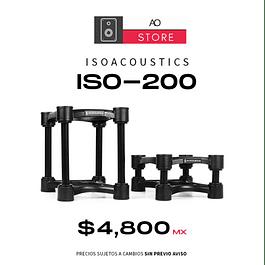 ISOACOUSTICS ISO 200 Bases Para Monitor El Par