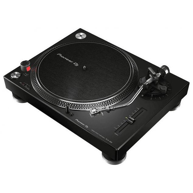 PIONEER PLX 500 BLACK Tornamesa Para Dj (Unidad)
