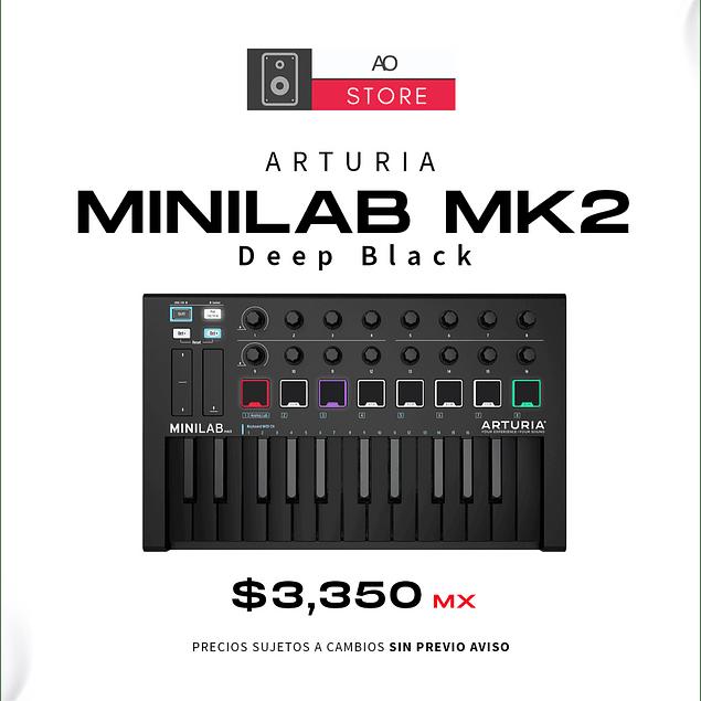 Arturia Minilab Deep Black MKII