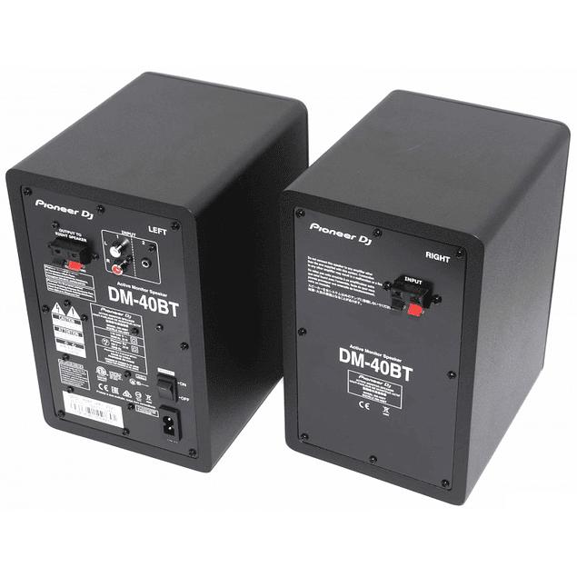 PIONEER DDJ 400 Controlador + DM 40BT Monitores (El Par) + HDJ  CUE1 Audífonos