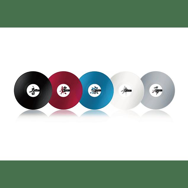 Pioneer Dj RB VD2 CL Vinilos de Control Rekordbox (Par)