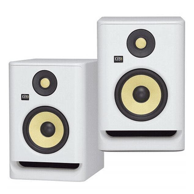 KRK ROKIT RP7 G4 White Monitores De Estudio (El Par)