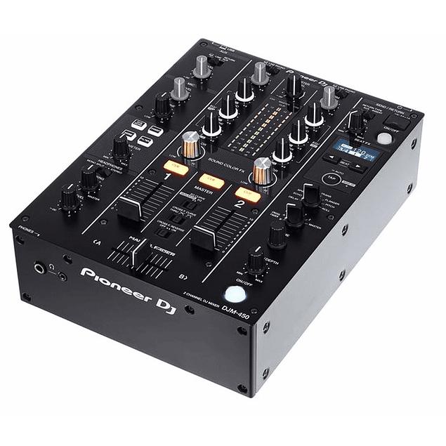 Pioneer DJM 450 Mezcladora para DJ