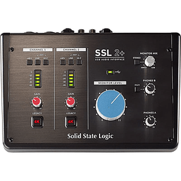 SSL 2+ Interfaz de Audio