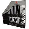 Set de cuchillos de 4 piezas + barra magnética