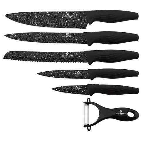 Set de cuchillos de 6 piezas con pelador