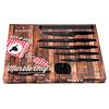 Set de cuchillos de 7 piezas con barra magnética y afilador